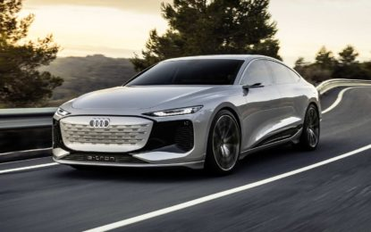 Audi A6 e-tron concept – estetika i aerodinamika [Galerija]