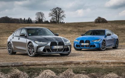 BMW M3 Competition Sedan M xDrive i BMW M4 Competition Coupé M xDrive – ista snaga, bolje performanse [Galerija]