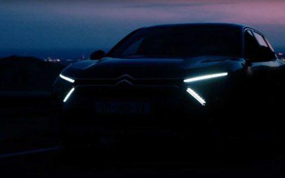 Citroën C5 – teaser prije promocije [Video]