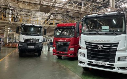 Kamaz: Ruski proizvođač kamiona obara rekorde