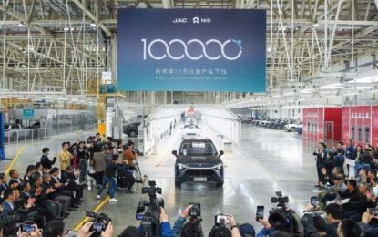 Nio: Pionir premium električnih vozila proizveo 100.000 vozila