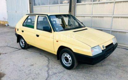 Oldtimer nedjelje: Škoda Favorit sa 17.000 kilometara [Galerija]