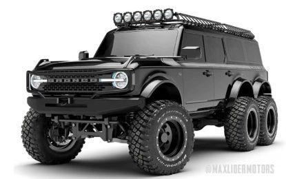 Ford Bronco 6×6 – otvorena knjiga narudžbi