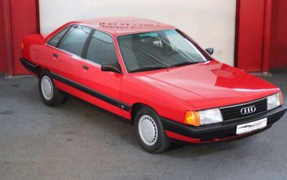 Oldtimer nedjelje: Audi 100 C3 sa 6.650 pređenih kilometara [Galerija]