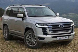 Ovako bi možda mogla izgledati nova generacija Toyote Land Cruiser