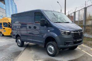 GAZ Sobol NN 4WD: Prva slika novog komercijalnog vozila
