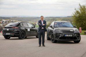 Porsche započinje testove električnog Macana