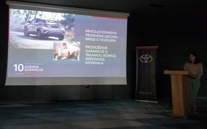 Toyota ima najbolje garantne uslove u Bosni i Hercegovini