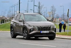 TEST – Hyundai Tucson 1.6 T-GDI 4WD HTrack 7DCT Shift by wire Luxury