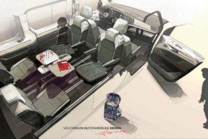 Volkswagen Multivan – još jedna skica, ovaj put unutrašnjosti