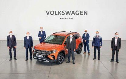 VW Taos: Početak proizvodnje u Rusiji