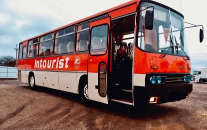 Ikarus 256: Autobus koji je prešao 2.900 km za 30 godina [Galerija]