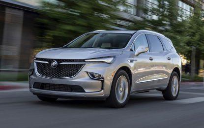 Buick Enclave 2022: Obnovljen veliki crossover [Galerija]