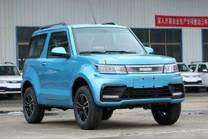 Hengrun HRS1: Suzuki Jimny dobio električnu kopiju [Galerija]