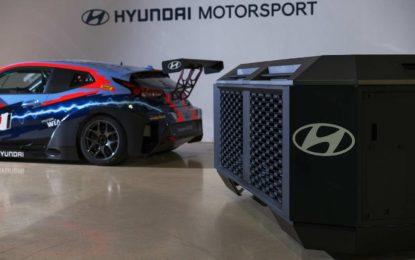 Hyundai – generator s gorivim ćelijama za napajanje trkaćih automobila