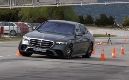 Mercedes S-klase: Verzija S 400d 4Matic na testu losa [Video]
