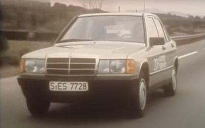 Mercedes 190 E: Pogledajte test iz 1983. godine [Video]