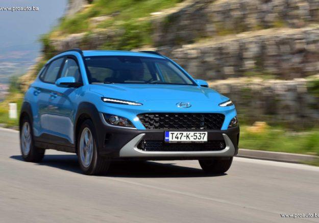 TEST – Hyundai Kona 1.0 T-GDI 6MT 2WD Desire it