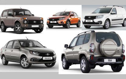 Rusija: Lada ne posustaje, Kia i Hyundai prvi pratioci