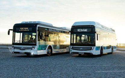 Caetano City Gold: Portugalski autobusi dobili znak Toyote