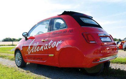 Ellenator Fiat 500: Trokolica na autoputu pokrenula lavinu [Video]