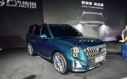 GAC GS8: Nova generacija kineskog Land Cruisera [Galerija i Video]