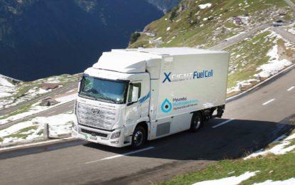 Hyundaijeva flota kamiona s vodikovim gorivim ćelijama prevezla više od milion kilometara