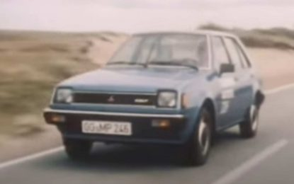 Mitsubishi Colt: Pogledajte test iz 1981. godine [Video]