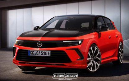 Neslužbeni render prikazuje kako bi izgledala nova sportska Opel Astra GSi