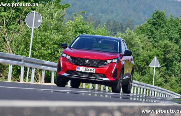 TEST – Peugeot 3008 Allure Pack 1.5 BlueHDi 130 EAT8 E6.3