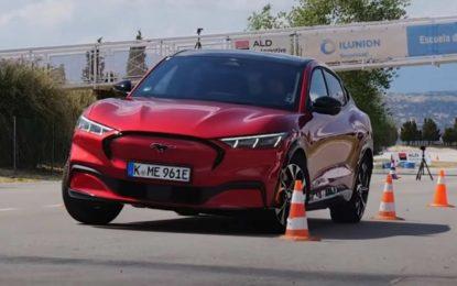 Ford Mustang Mach-E: Električni crossover na testu losa [Video]