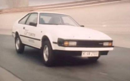 Toyota Celica Supra: Pogledajte test iz 1982. godine [Video]