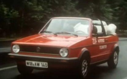 VW Golf Cabrio: Pogledajte test iz 1980. godine [Video]