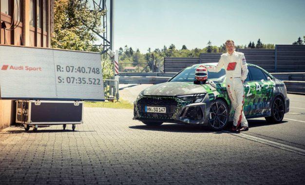 Novi rekord kruga na Nürburgring Nordschleifeu: Audi RS3 najbrži u klasi kompakta [Galerija i Video]