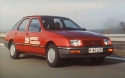 Ford Sierra: Pogledajte test iz 1982. godine [Video]