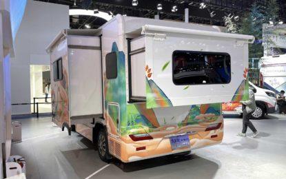 Chengdu Auto Show: Maxus Life Home V90 s dvostrukim proširenjem