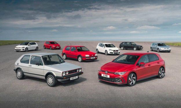Volswagen Golf – Generacije od 1 do 8