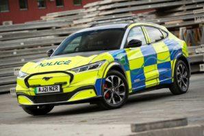 Ford Mustang Mach-E: Predstavljen koncept policijskog automobila [Galerija]