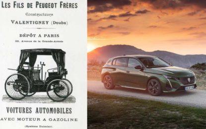 Novi 308 za proslavu 211 godina Peugeota i za 130 godina putničkih automobila