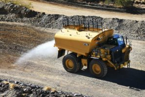 Cat 777G Water-Solutions SKW: Monstruozna Caterpillarova cisterna