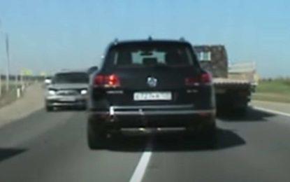 Kakva bahatost: Pogledajte policijsku potjeru za vozačem VW Touarega [Video]