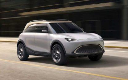 Smart SUV Concept #1: Studija prvog električnog crossovera [Galerija]