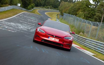 Tesla Model S Plaid: Nezvanični rekord Nürburgringa [Video]