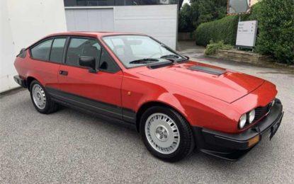 Oldtimer nedjelje: Alfa Romeo GTV 6 2.5 iz 1986. godine [Galerija]
