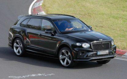 Bentley Bentayga Black Edition – testovi na Nürburgringu
