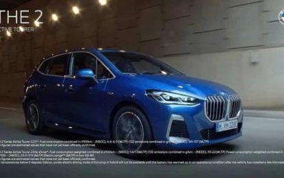 Ovo je BMW-serije 2 Active Tourer koji će uskoro biti premijerno predstavljen