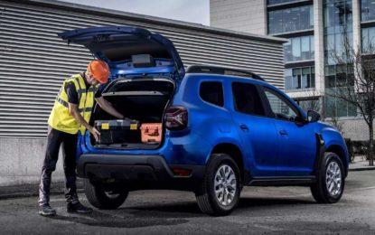 Dacia Duster Commercial: Prva furgon verzija nakon obnove modela [Galerija]
