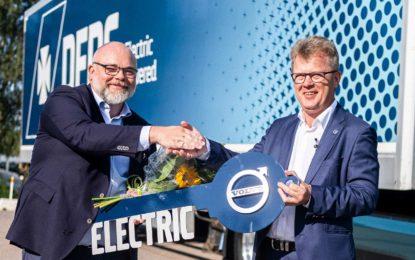Volvo Trucks – 100 električnih kamiona za DFDS