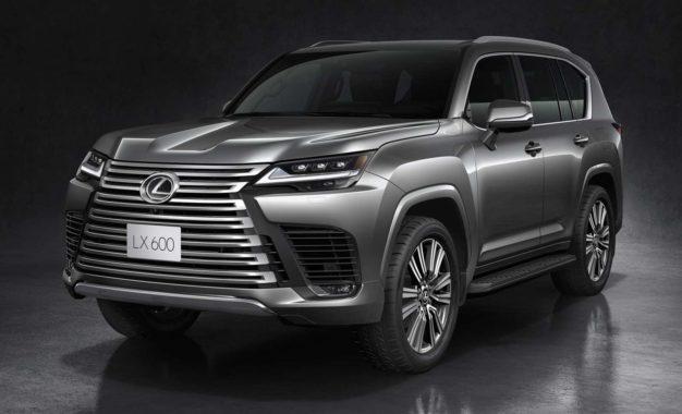 Predstavljen novi luksuzni SUV Lexus LX 600 [Galerija i Video]