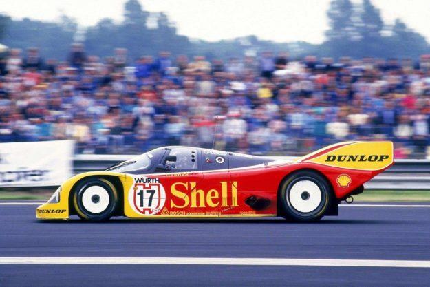 Hans-Joachim Stuck / Porsche 962C [1987]